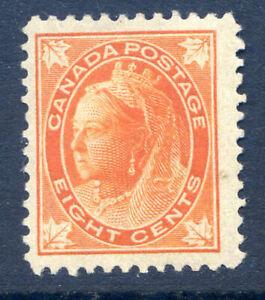 Canada 1897-98 8c orange centred left good mint (2019-09-18#10)