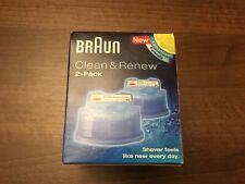 Braun Clean & Renew Cartridges 2 Pack - CCR2