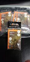 Fish Hooks  Size 2 -  Lot of 20 pkgs  -10 hooks ea pkg