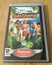 The Sims 2 Castaway Platinum for Sony PSP - UMD Region Free with game manual