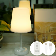 Touch Sensor Cordless LED Light Desk Table Reading Lamp Home Bed Night Reading