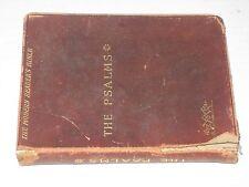 The Psalms - Modern Reader's Bible (1907) by Richard G. Moulton