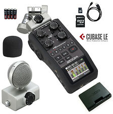 Zoom H6 Six-Track Portable Handy Recorder w/2GB SD *New* Authorized USA Dealer
