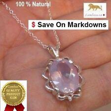 10.80 ct Lavender Amethyst Silver Pendant