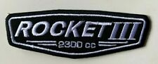 Triumph Rocket III 2300 cc  -  Embroidered Patch Iron on Sew On Badge