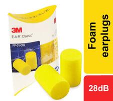 3M Oreille Classique Mousse Bouchons D'Oreilles SNR 28dB Bruit Protection Work