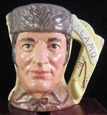 """Royal Doulton Two Sided Character Jug """"Crockett & Santa Anna"""" D6729"""