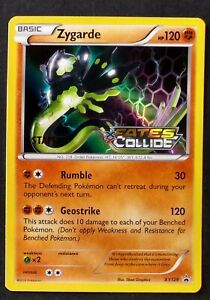 Pokemon  Fates Collide ZYGARDE Prerelease STAFF Holo (XY129)    Near Mint