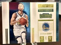 Stephen Curry 2017-18 Panini Hall of Fame Contenders Insert #7 - WARRIORS