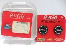 Coca-Cola - ORECCHINI TAPPO NERI