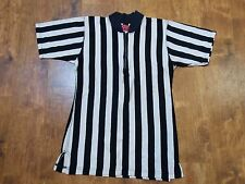 VTG 50's 60's ? Referee Shirt Jersey by Chippewa Valley Sporting Goods 1/4 zip M