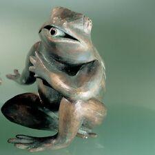 Rottenecker Bronze Fauler Frosch wasserspeiend Gartendeko Tierwelt 90129