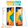 Samsung Galaxy A20 A30 A50 A70 Clear Case Shockproof Gel Heavy Duty Tough Cover