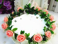 Hot Fashion Women Beauty Flower Head Hair Band Headband Bridal Wedding Garland