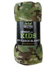 Kids BTP Camouflage Fleece Blanket