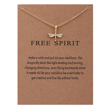 "Women's Fashion Jewelry ""FREE SPIRIT""  Gold Pendant Necklace 11-2"