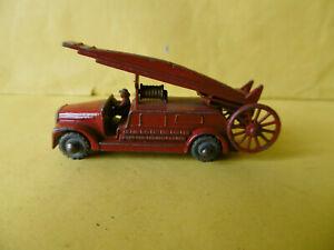 Matchbox Lesney 1:75 Scale Dennis Fire Escape Engine No 99  Diecast Vehicle