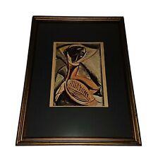 Picture, Framed Glazed, Vintage Artwork Print. Picasso.