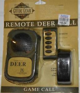 Guide Gear Remote Control Deer Call Game Hunting $49 Retail Wireless Free Ship