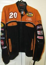 NASCAR Tony Stewart Home Depot Suede Jacket by Wilsons Large