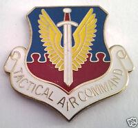 TACTICAL AIR COMMAND Military Veteran US AIR FORCE Hat Pin 14984  HO