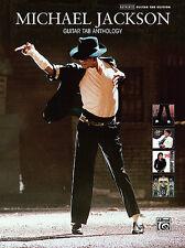 MICHAEL JACKSON GUITAR TAB ANTHOLOGY SONG BOOK NEW