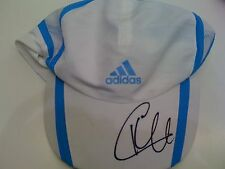 KIM CLIJSTERS HAND SIGNED ADIDAS CAP UNFRAMED + PHOTO PROOF & C.O.A