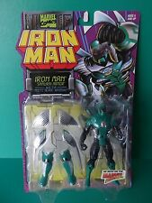 "TOY BIZ 5""IN  ""IRON MAN"" SAMURAI ARMOR W/MULTI BLADE ARSENAL 1996"