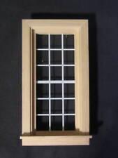 """Economy Window 2-1/2 x 5"""" dollhouse miniature 1:12 scale wood.5034"""