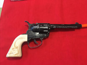 Vintage Mattel Fanner 50 Diecast Toy Roll Cap Pistol As Found