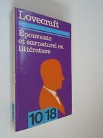 LOVECRAFT - EPOUVANTE ET SURNATUREL EN LITTERATURE - 1969