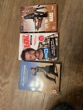 3 X Dvd Box Sets An Idiot Abroad My Name Is Earl Life In Mars Dvds Bundle