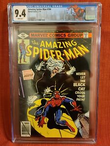 Amazing Spider-Man #194 CGC 9.4 1st App of Black Cat 🔥🔑 Stan Lee Marvel 300