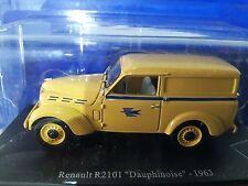 1/43 CAL213 RENAULT R2101 DAUPHINOISE LA POSTE 1963