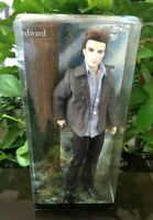 The Twilight Saga EDWARD ~ Pink Label Barbie Collector Doll ~ With Stand - NEW!