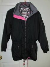 Kaelin Womens Ski Jacket Size 8 Black/PInk