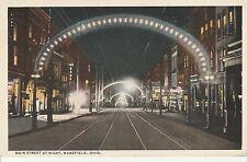 LAM(W) Mansfield, OH - Main Street At Night