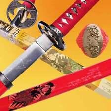 Nobunaga Oda Blood Red Sword Japanese Samurai Katana Sengoku Collectors Edition
