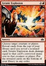 Erratic Explosion NM x4  Planechase Anthology MTG Magic Card Red Common
