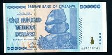 ZIMBABWE $ 100 TRILLION DOLLARS  genuine authentic banknotes - UNCIRCULATED P91