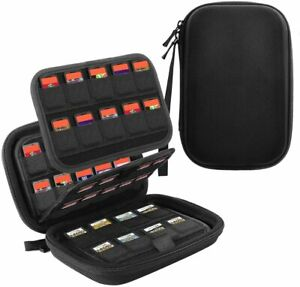 TiMOVO 112 Game Case Holder Storage Bag for Nintendo Switch Game Cards/ SD Card