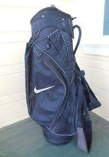 Nike Golf Cart Bag / 6-Way Divider / Black & Grey / No Rain Cover
