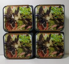 4 Lunch Boxs LEGO The Ninjago Movie Fight For Your Right Sand Green