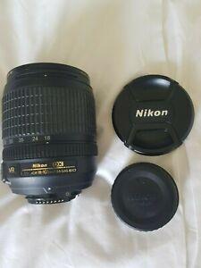 Nikon 18 105 mm vr afs dx lens black