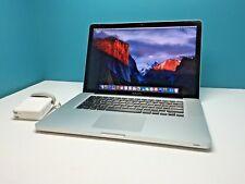 Apple Macbook Pro 15 OSX-2017 Pre-Retina / 1TB HDD / UPGRADED 8GB / 3YR WARRANTY