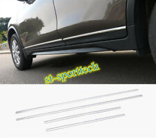 For Nissan Rogue 2014-2020 Stainless Chrome Side Door Body Molding Cover Trim