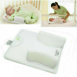 For Baby Infant Newborn Sleep Non Roll Shape Anti-Spit Milk Pillow Cushion Nest