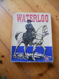 Avalon Hill Waterloo Napoleon Boardgame Vintage