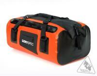DrySpec D38 Rigid Waterproof Motorcycle Dry Bag | 38L Total - Orange