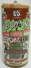 C And S Products C&S Ready To Use Hot Pepper Delight Suet Log 2 Lb